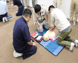 AED Training Session